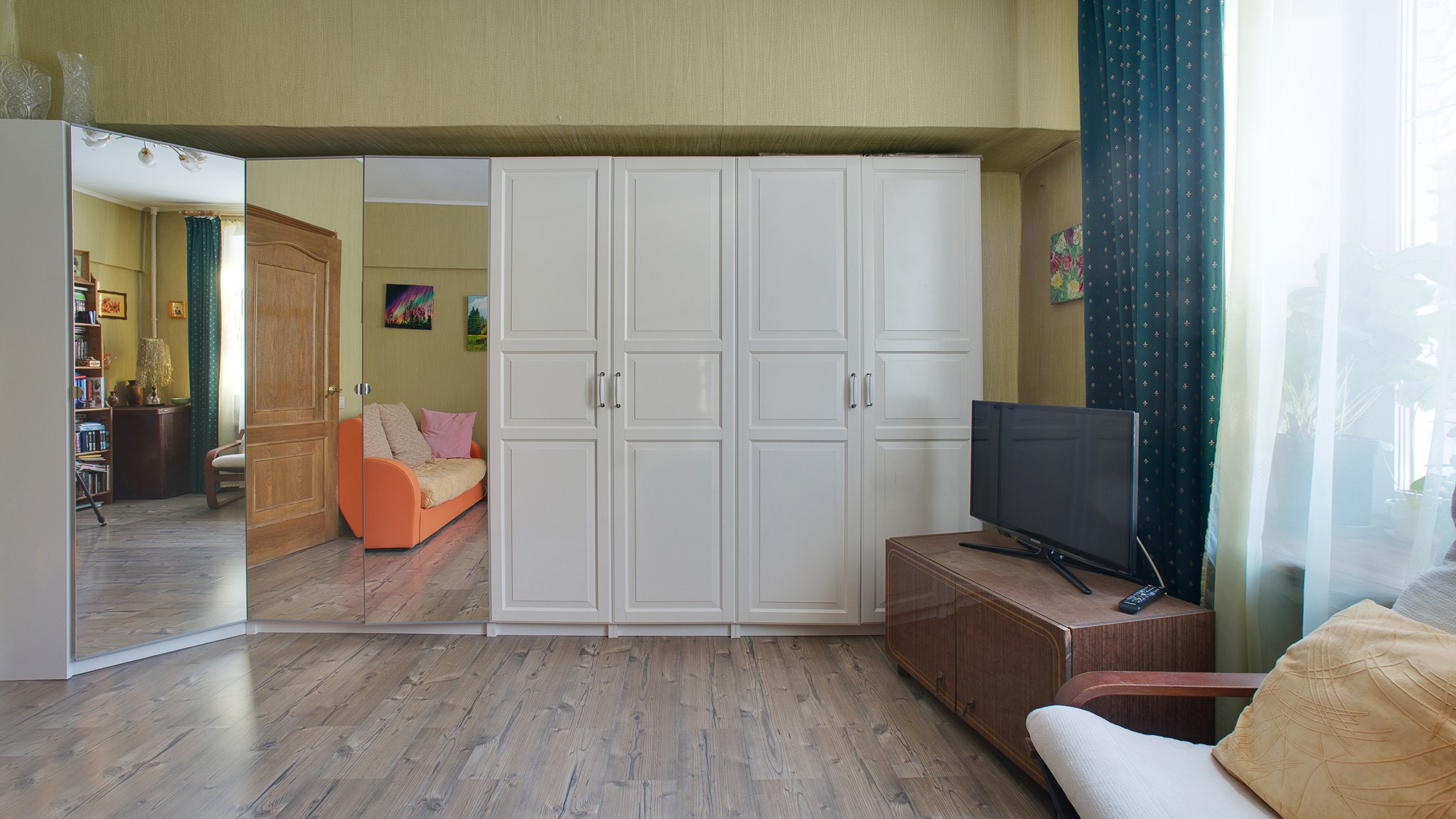 Interior photography of low budget apartments for sale