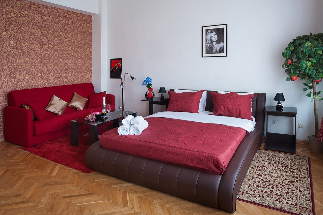 Interior photographer - a hostel near the Kremlin in the center of Moscow