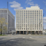 The Ministry of Internal Affairs, Central Bank of Russia, Ministry of Justice. Architecture photography