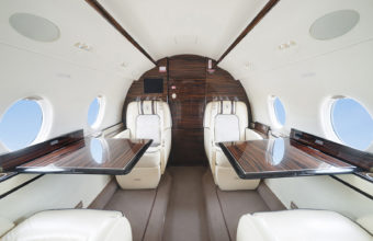 Photos of business aviation salons. Interior photographer Kirill Toll