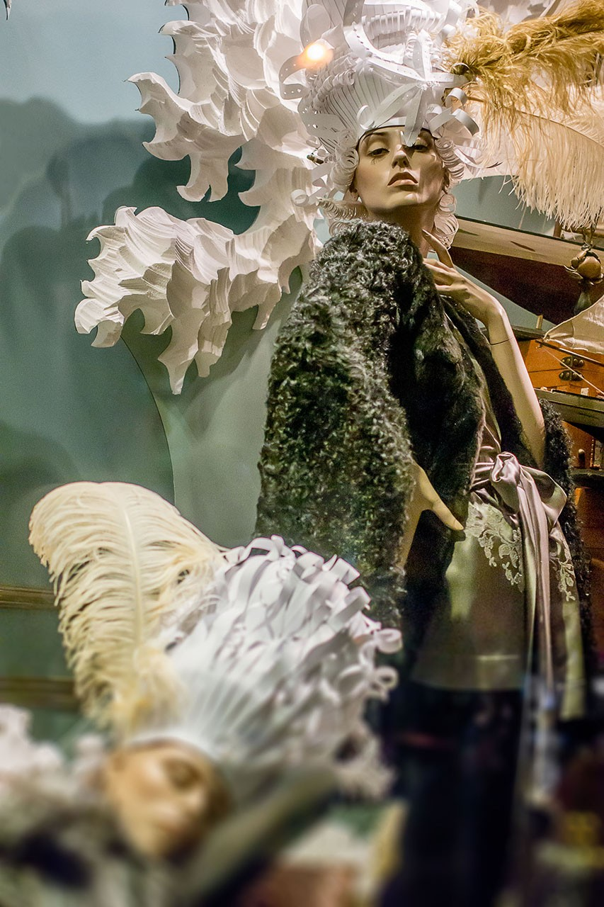 Dreams in shop windows. Photographer K Toll-
