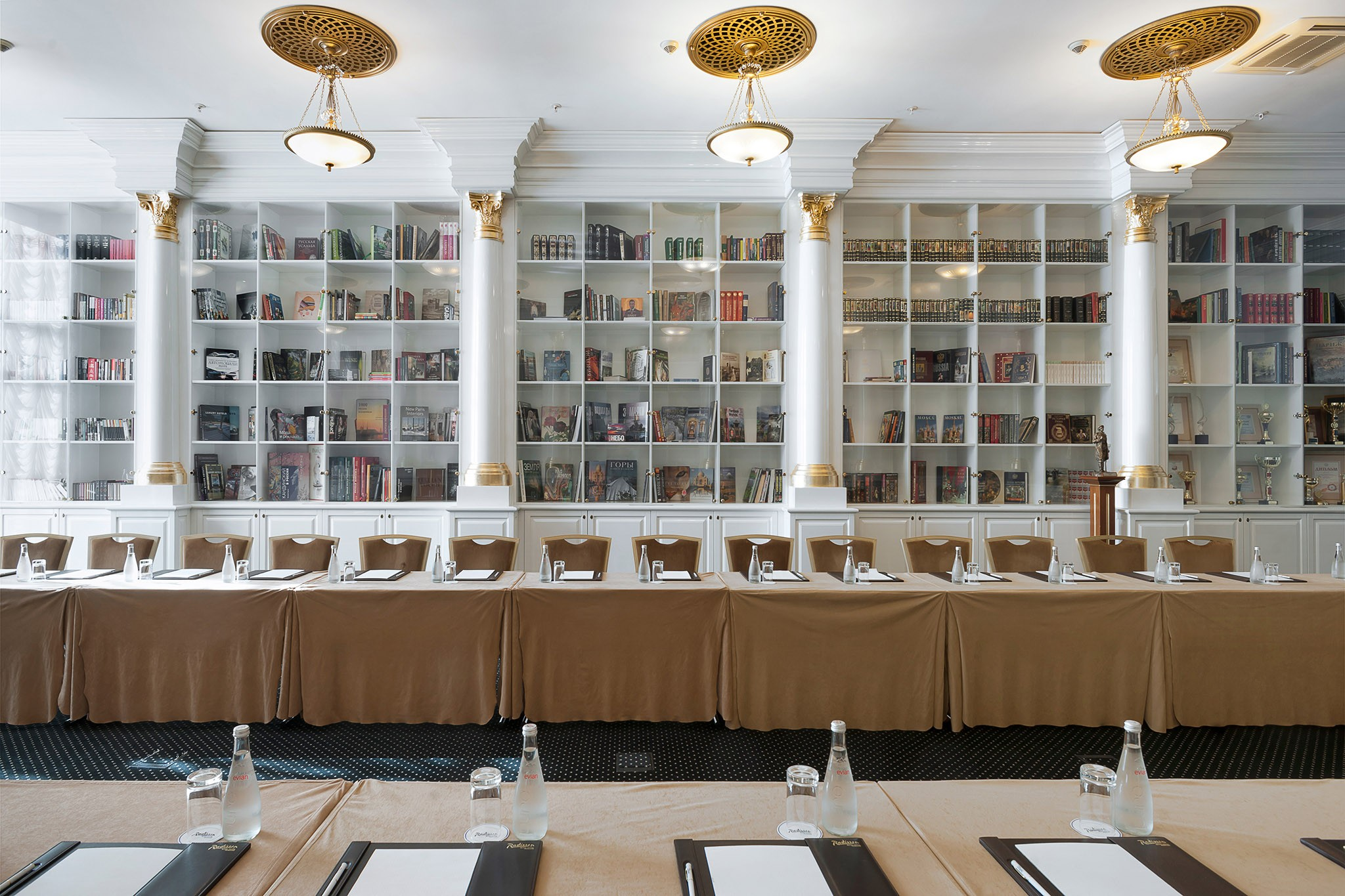 Library and meeting room. Interior photographer Kirill Toll