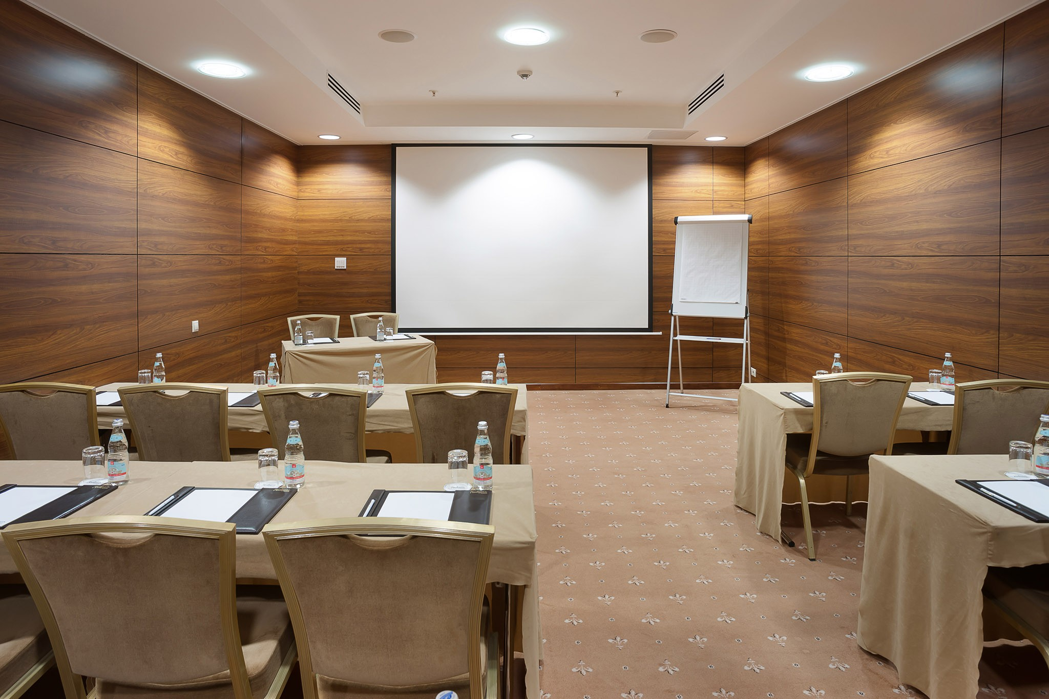 The meeting room. Interior photography for presentation