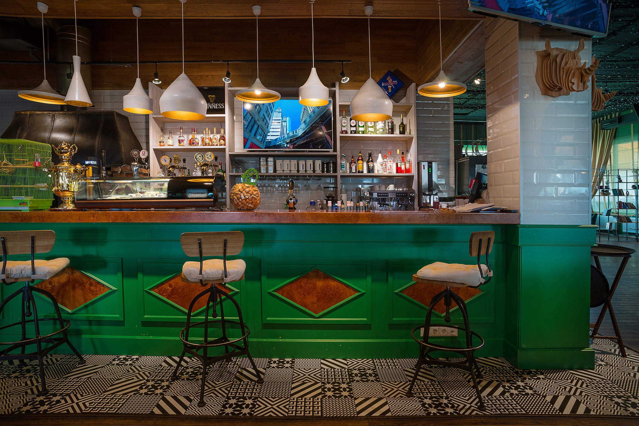 Interior photography of real estate. Photographs of restaurants by photographer Kyril Toll. Moscow