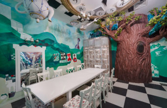 Children's playrooms. Amusement park. Interior photography