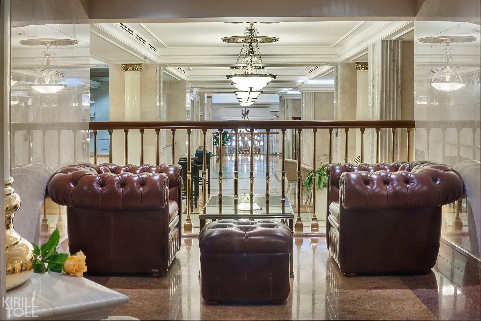 Photos of public recreation areas at the hotel