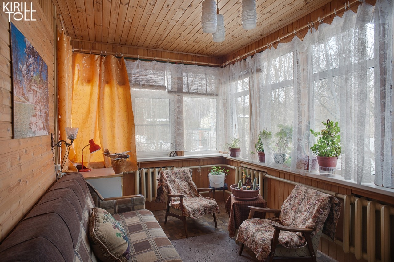 Interior photography of a rural house for sale by order of a realtor