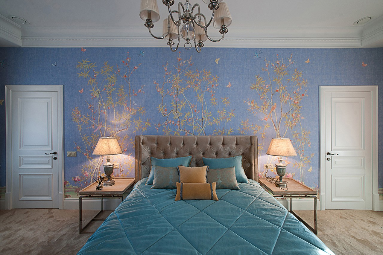 Interior photography of a bedroom for a designer