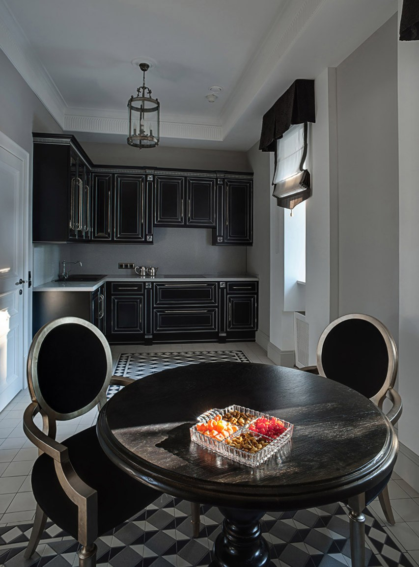 Interior photography of a kitchen for a designer