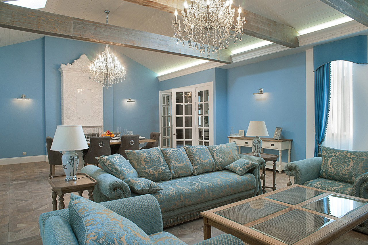 Interior photography of the living room