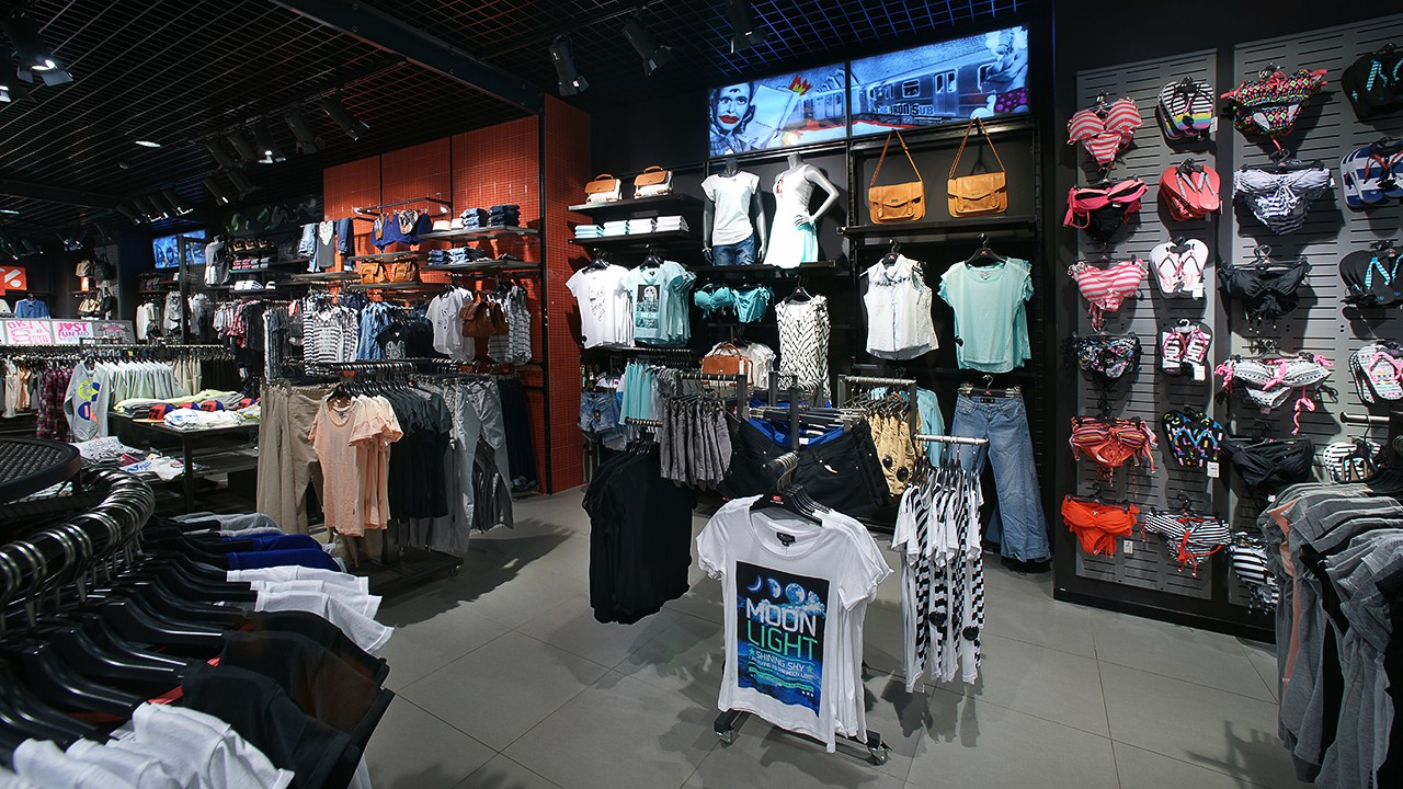 Crop Town store interior shot