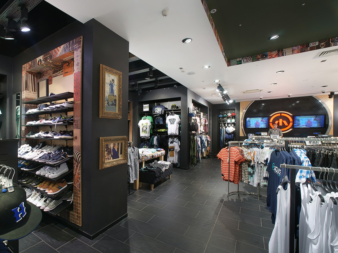 House store interior shot