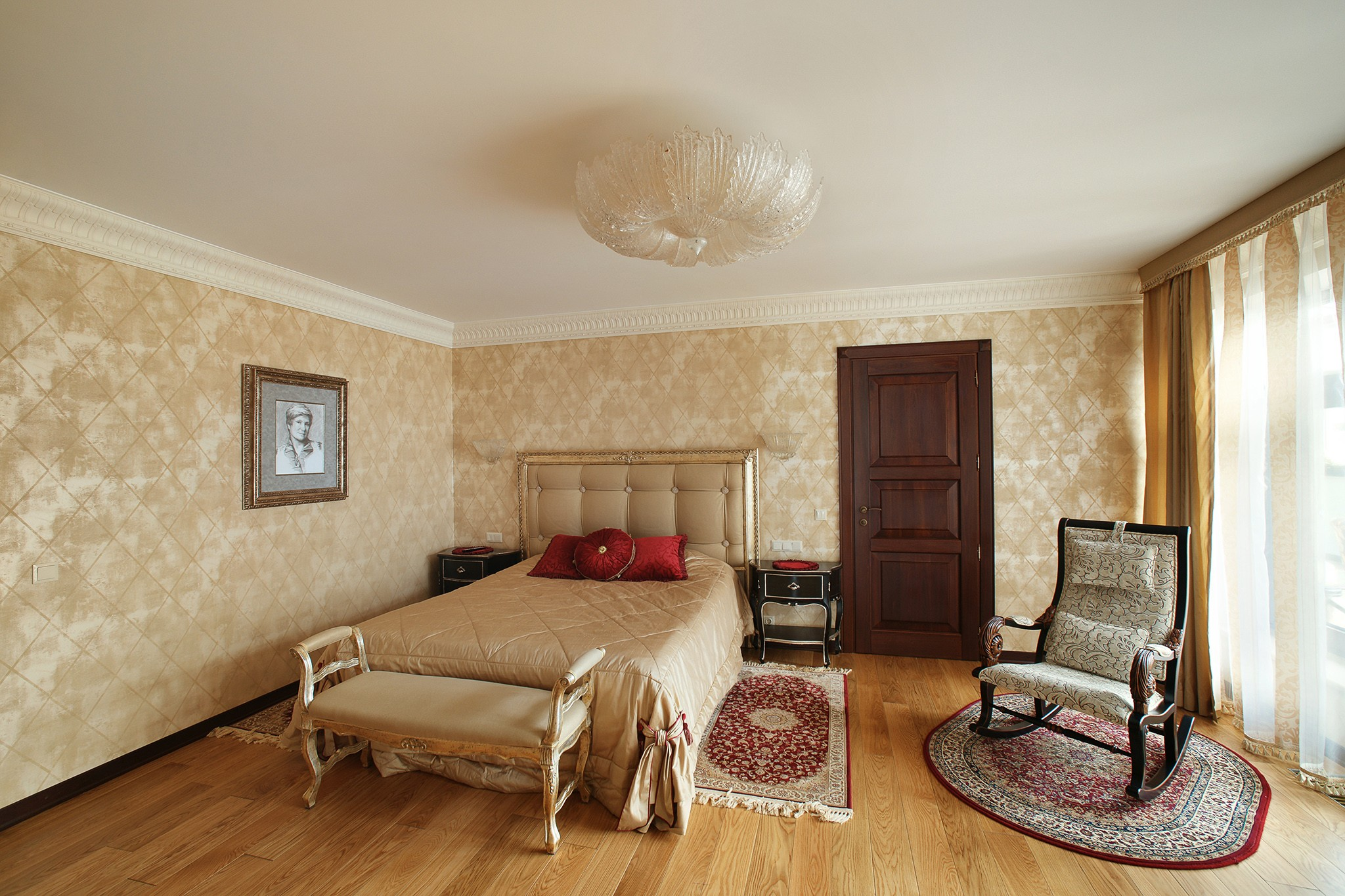 Interior of a country house. Some photos for the architect