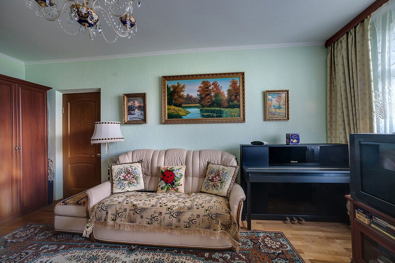 City apartment. Moscow. Interior photography