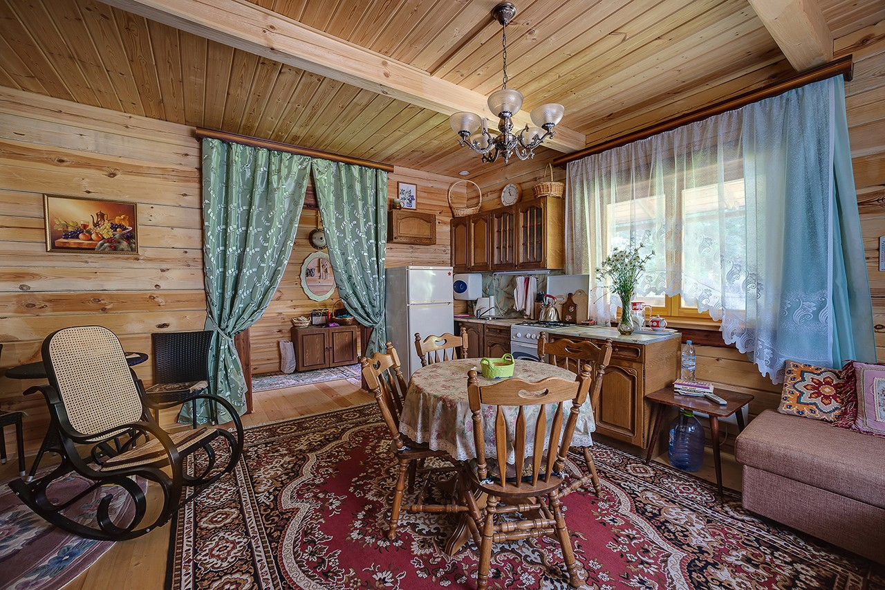 Country house. For sale. Interior photography