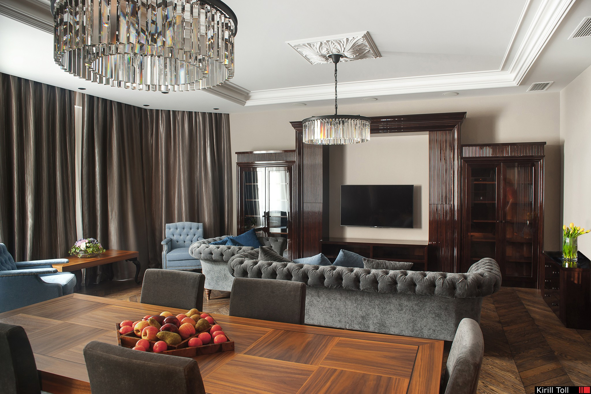 Photos of the interior of the apartment for delivery