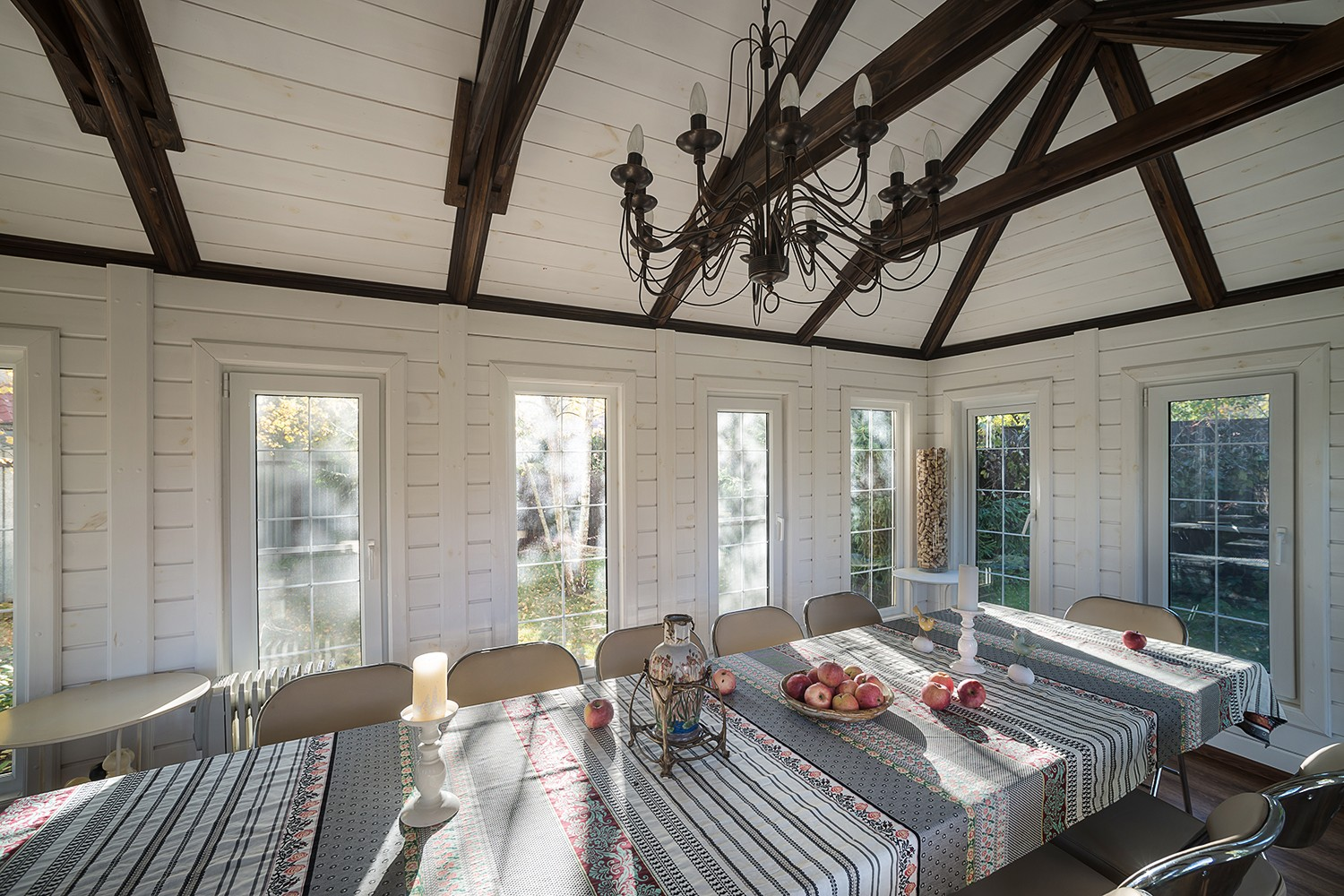 Summer house veranda Real estate photos The building is for-sale Photographer Kirill Toll