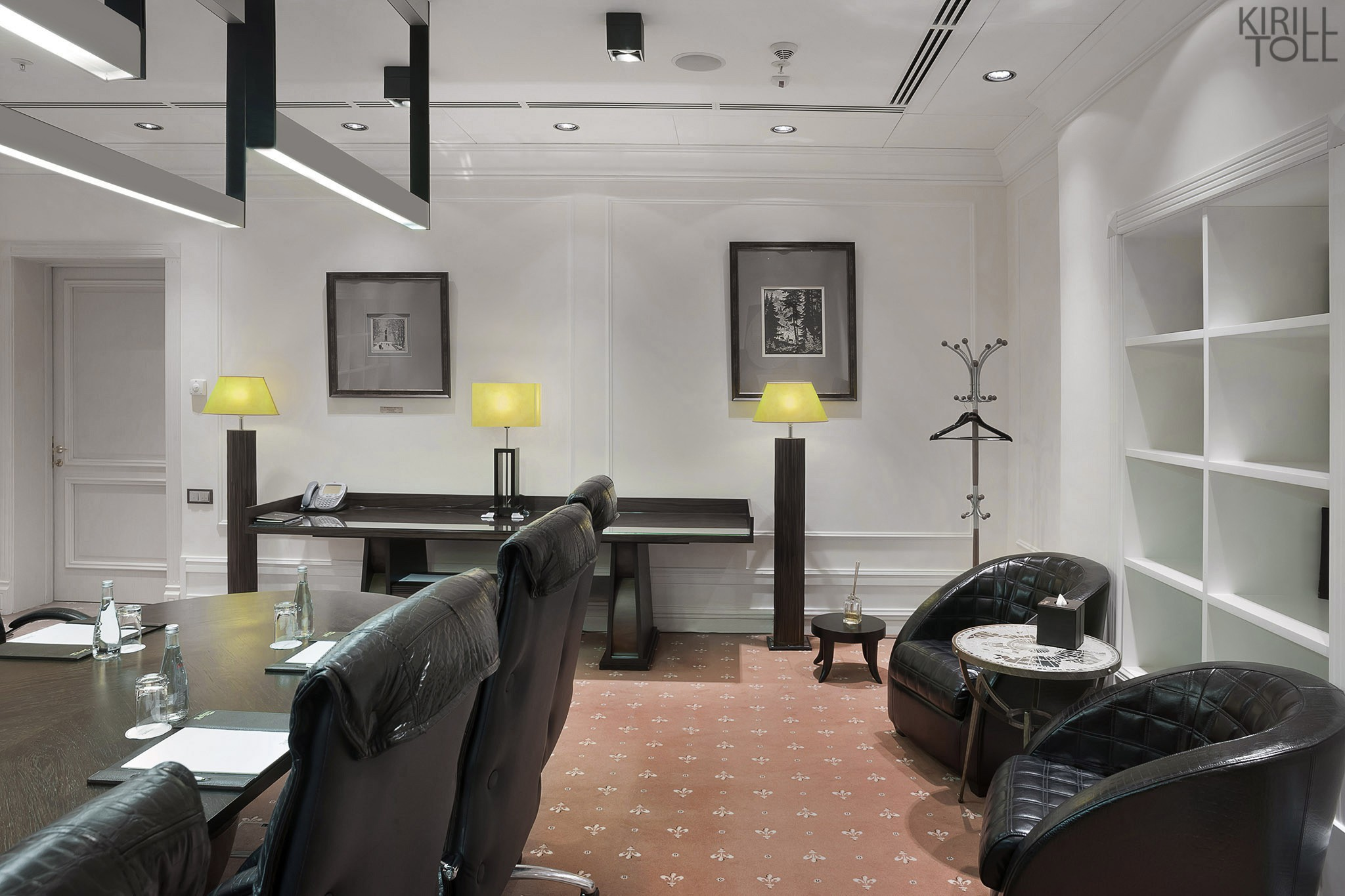 Interior of a meeting room. Portfolio of the professional photographer Moscow