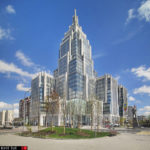 2 Business centers in Moscow & Stalin's skyscrapers. Architecture photography