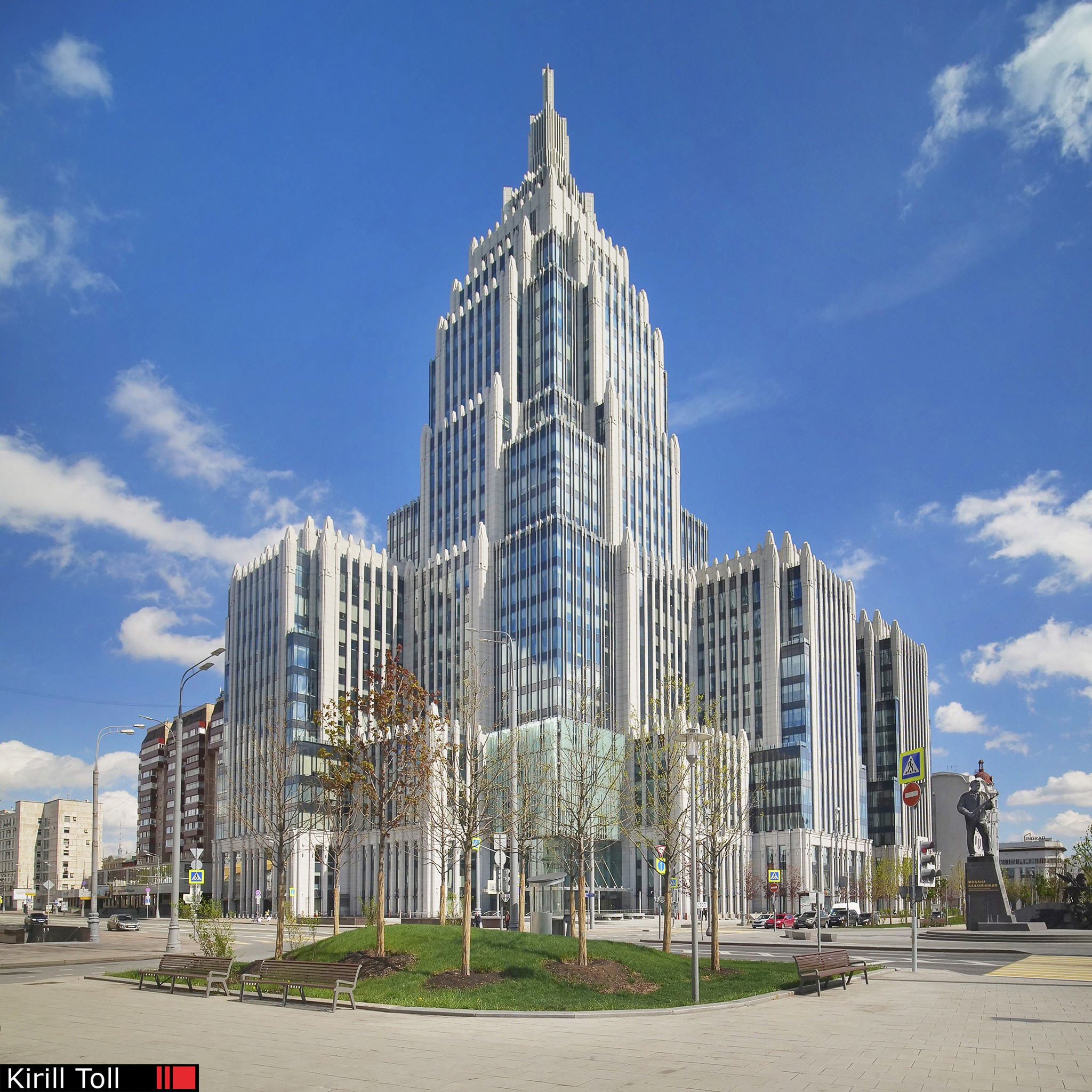 Business Center Orujeinii-Oruzheynyy Pereulok 41 Moscow
