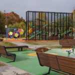 Kids playgrounds in Moscow. 10 photos