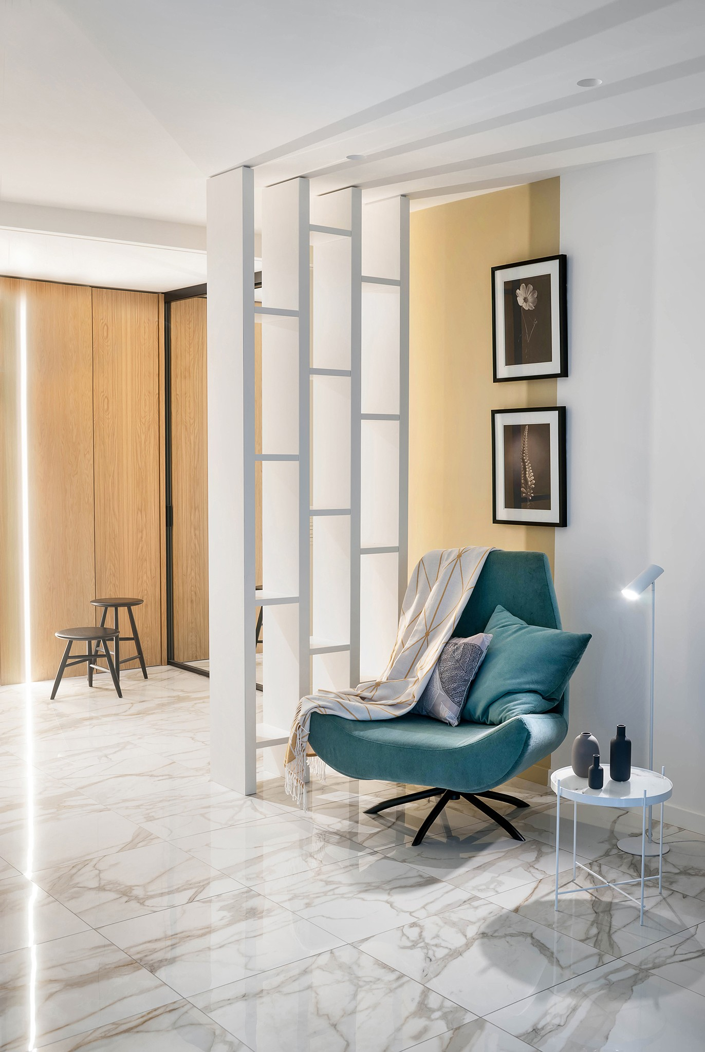 Interior photography of one apartment for the designer. Professional photographer Kirill Toll