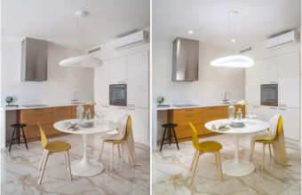 Interior photography with various lighting options. Examples of the photographer Kirill Toll for the thought of customers and colleagues.
