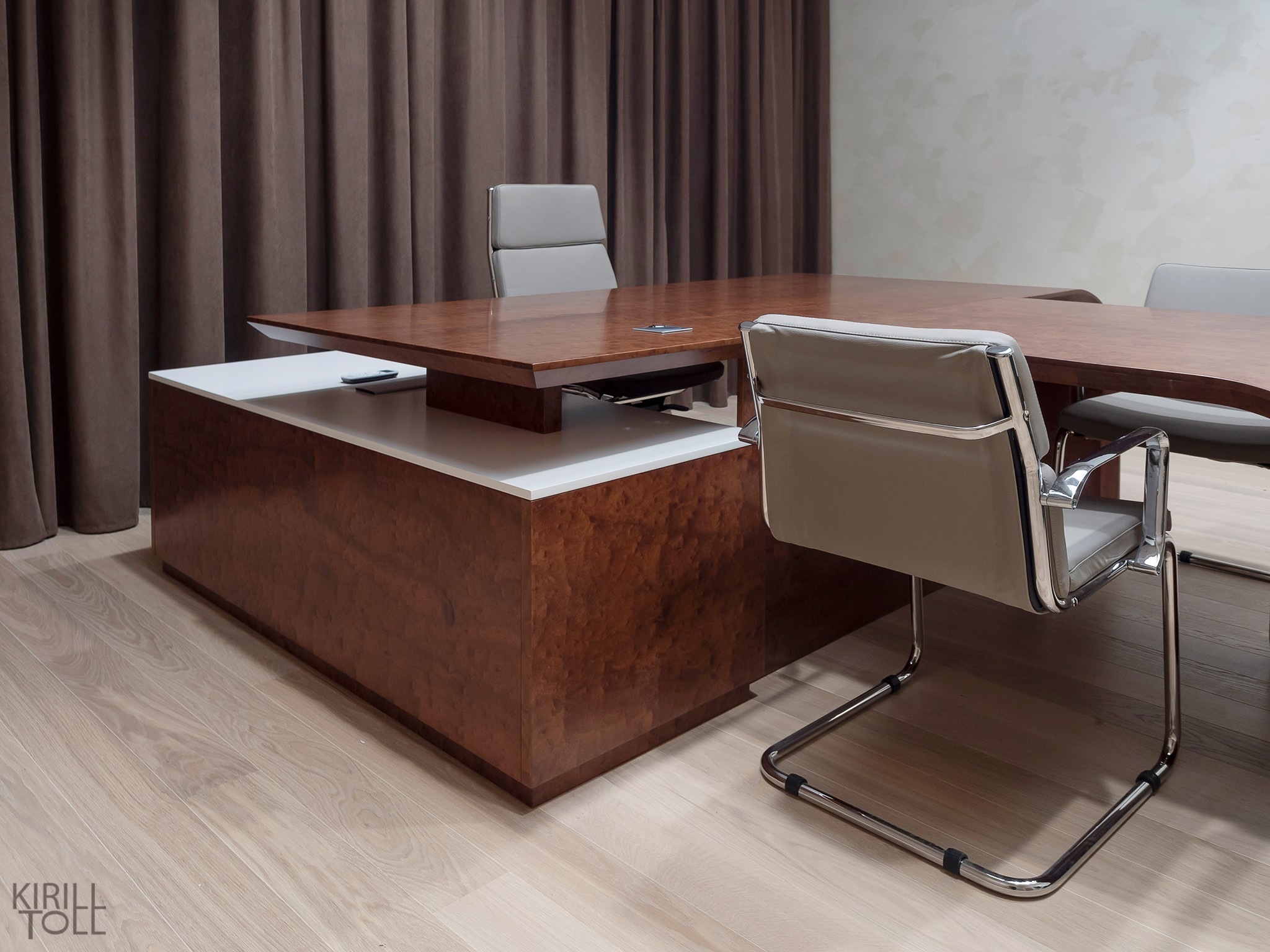 Pictures of office furniture. Office interior photography