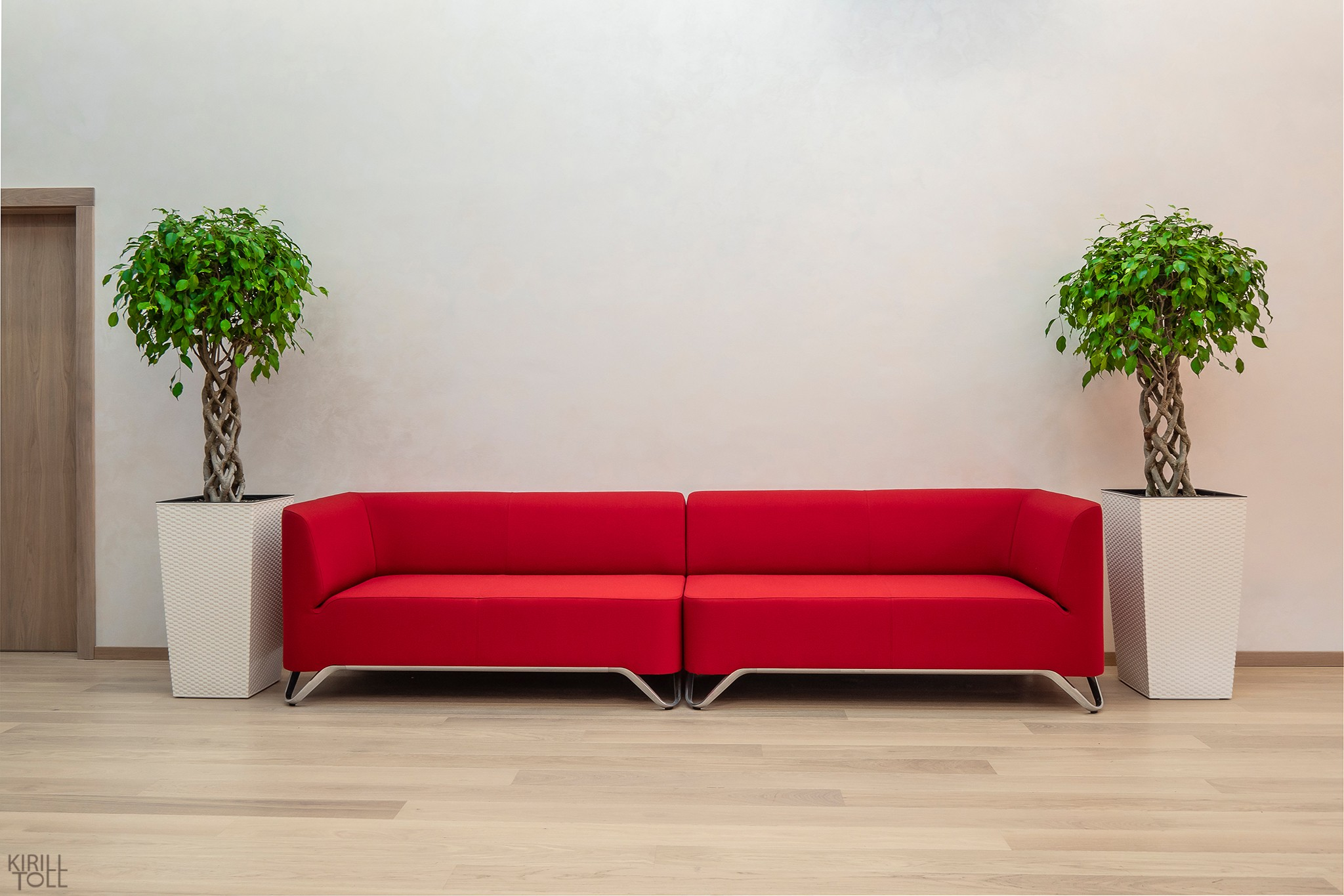 Furniture in the interior of the office. Professional photographer Kirill Toll