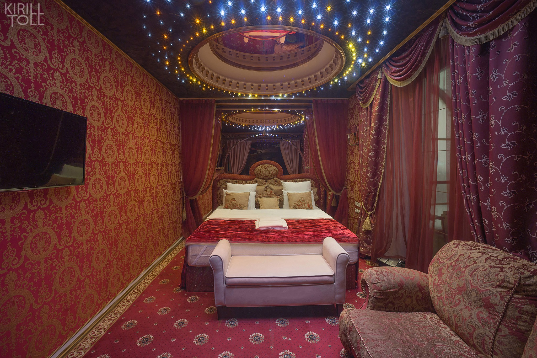 Hotel interior photography in the historical center of Moscow