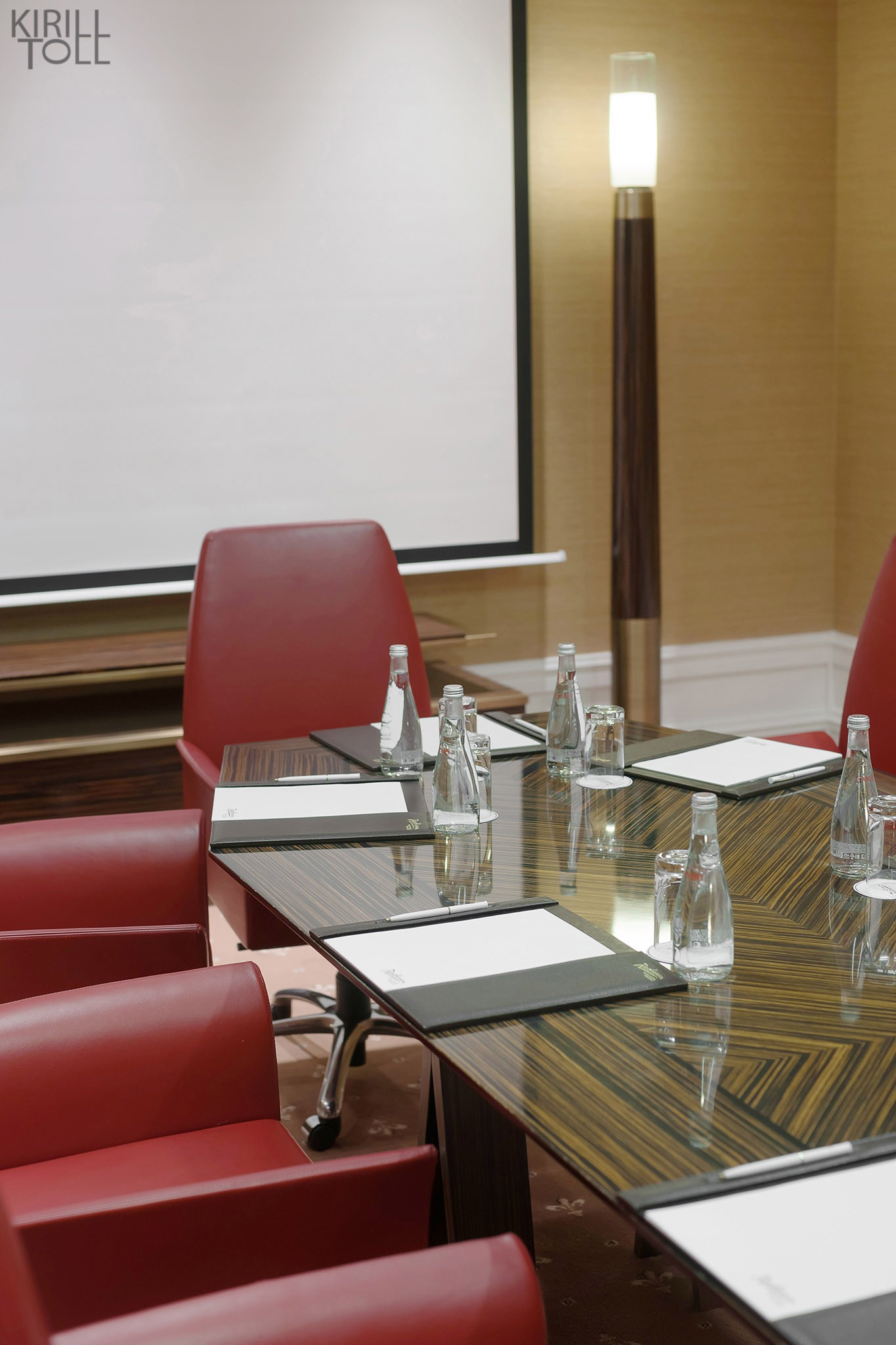The interior of the meeting room. Photographer Kirill Toll. Moscow