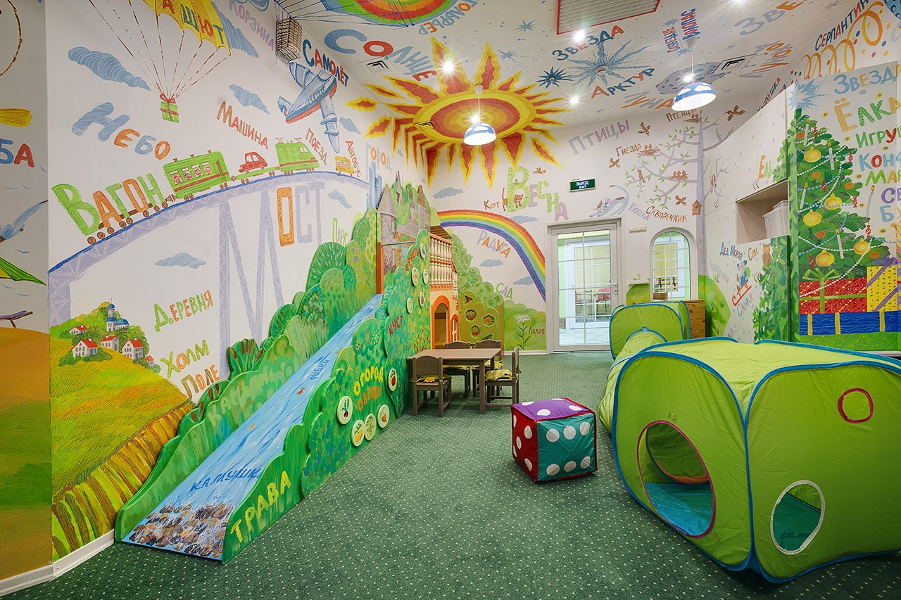 Children's interiors. Gallery of the photographer Kirill Toll
