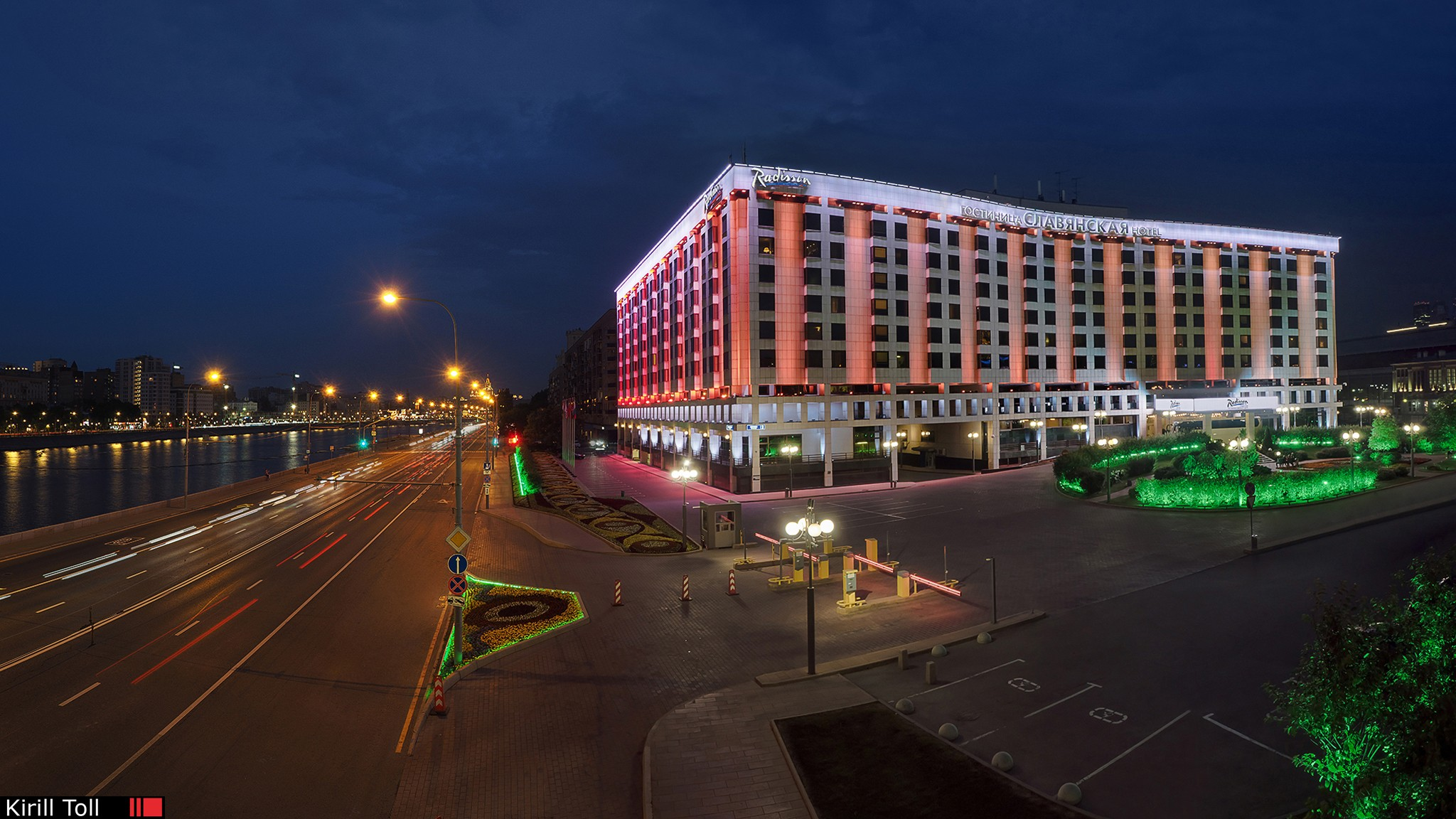 Photography for a Moscow hotel