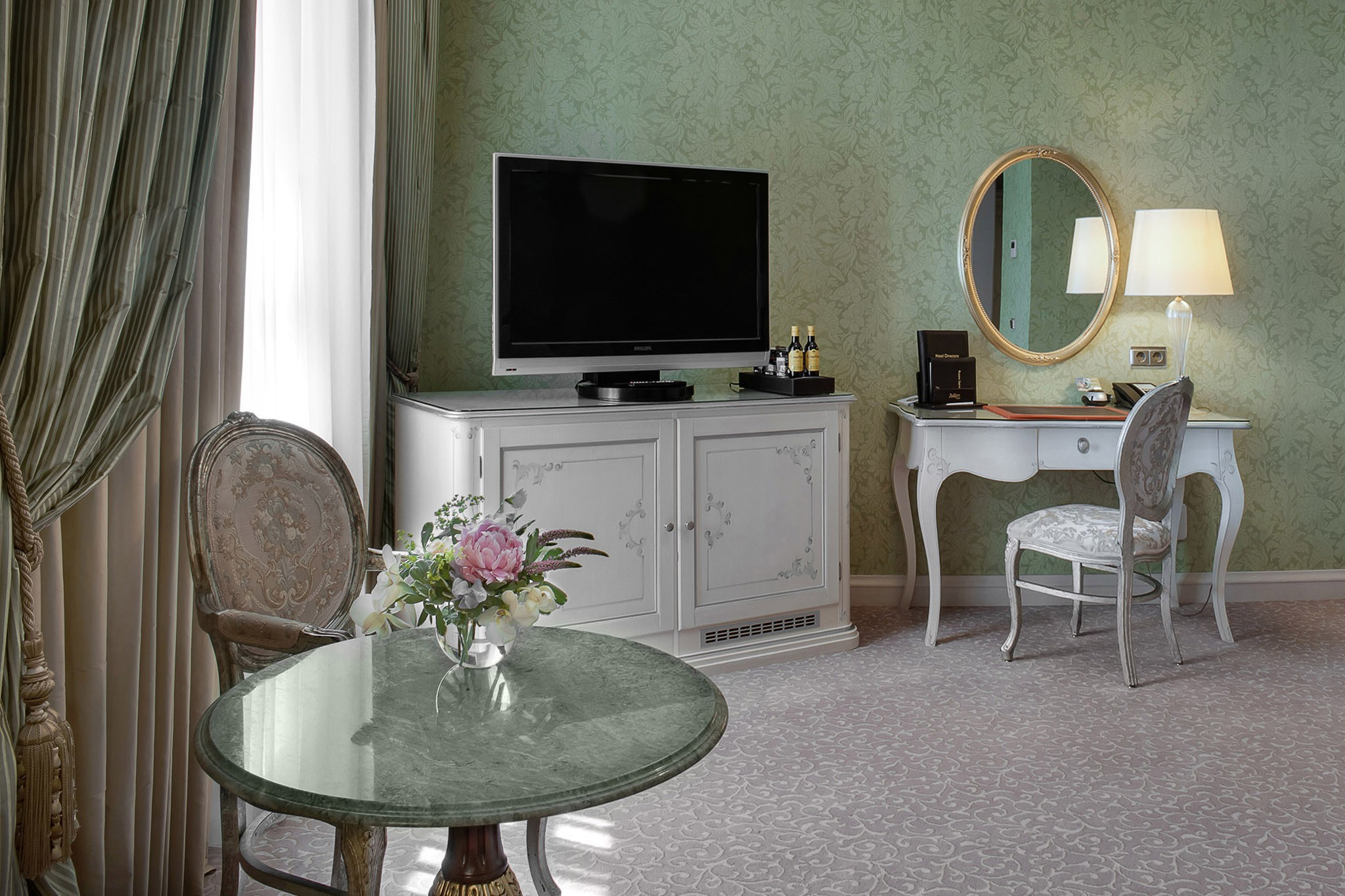 Photos of hotel rooms. Photographer's work for the presentation of apartments