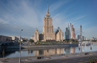 Hotel Ukraine. Photos of Stalin's skyscrapers. Moscow architecture