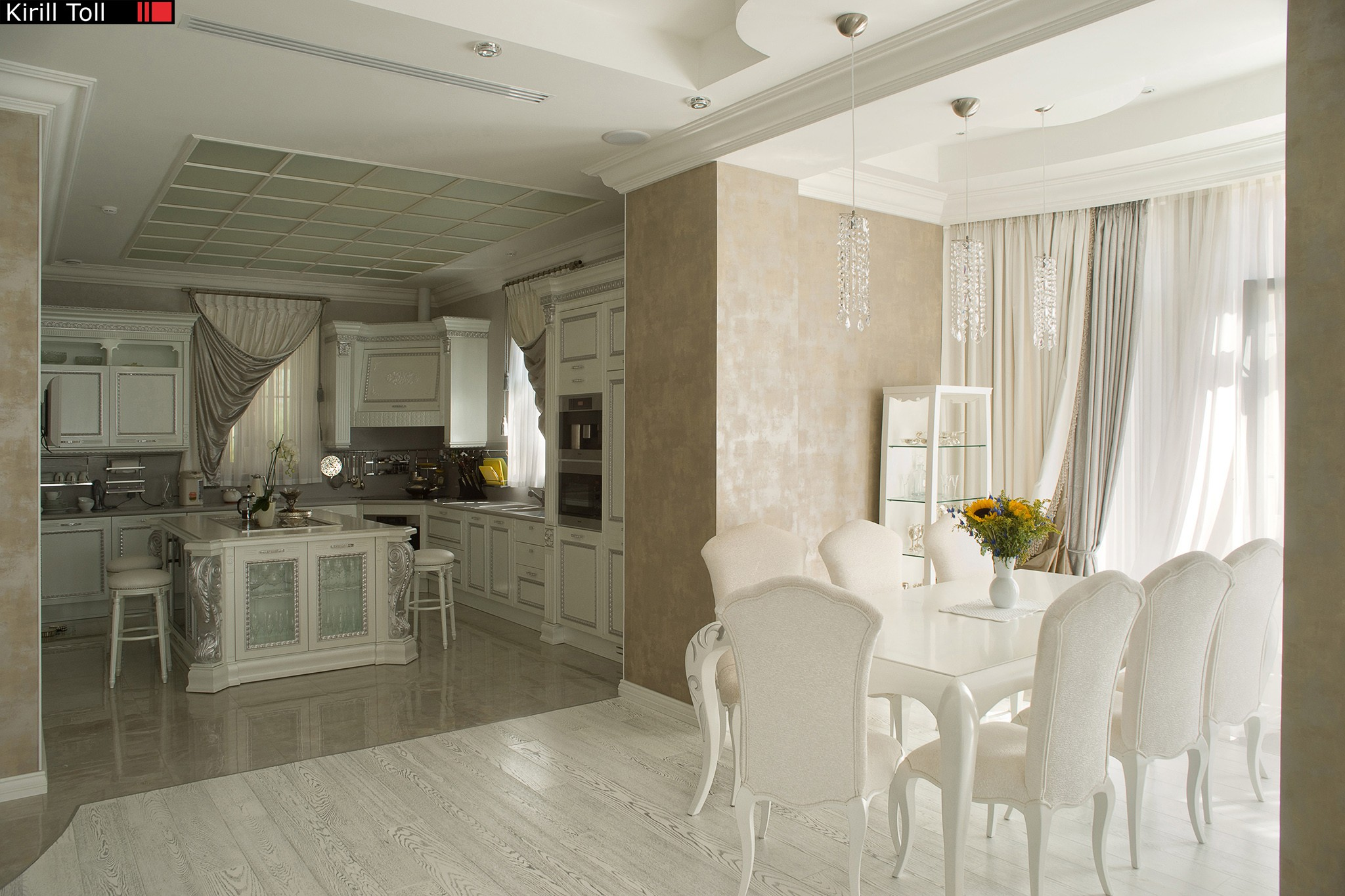 House near Moscow on interior photos of real estate from Kirill Toll in the gallery of an interior photographer