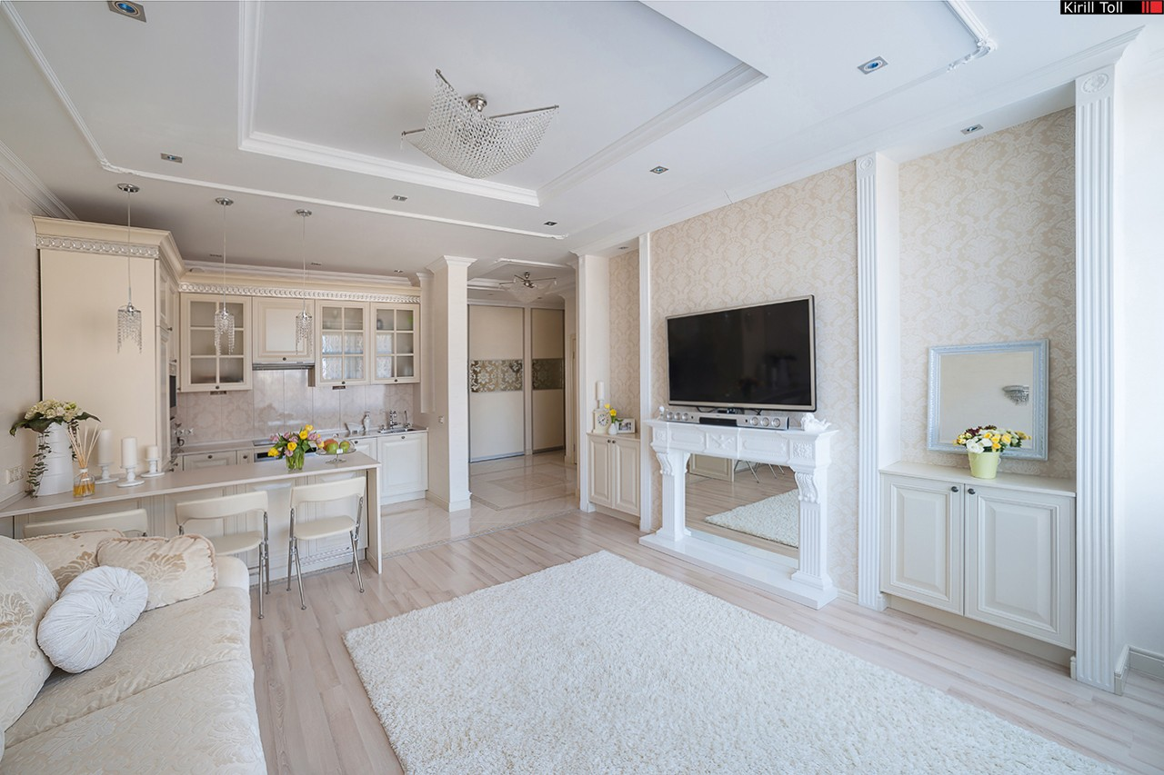 Interior photos for a realtor Photographing-apartments for-sale-real estate in the suburbs
