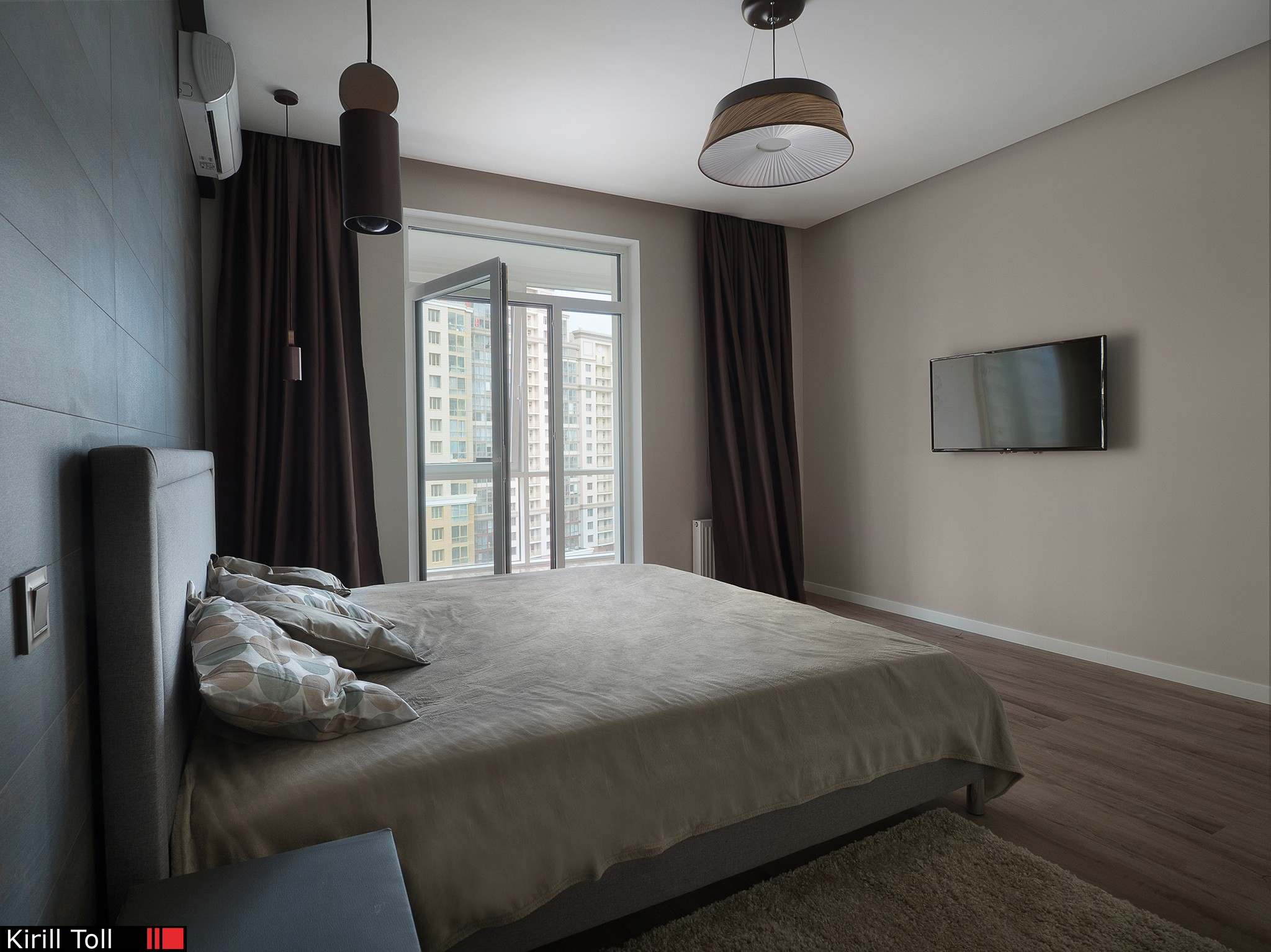 Photos for a realtor Interior of an apartment for rent or sale. Photographer Kirill Toll
