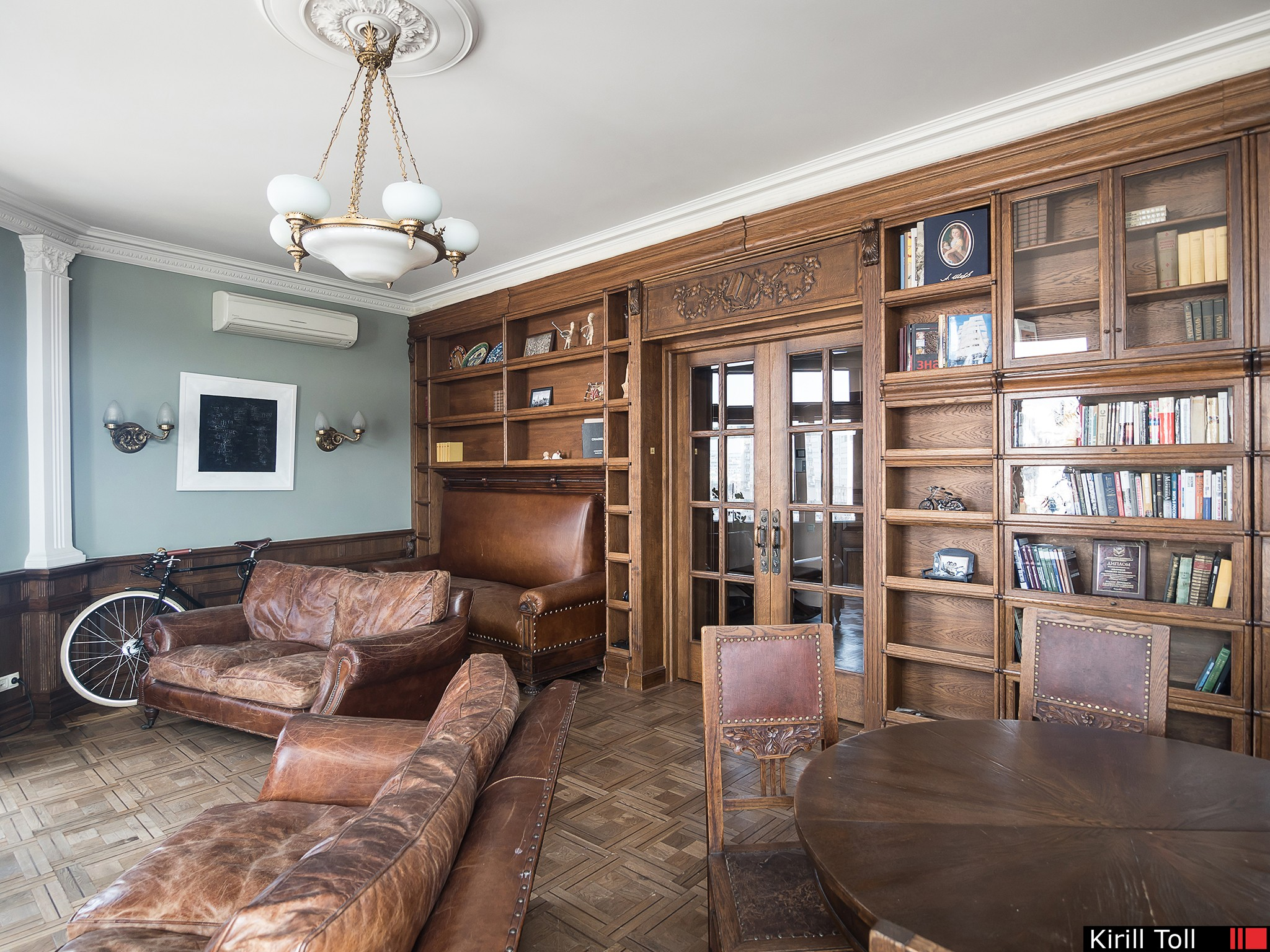 Professional real estate photography for sale Photos of an apartment inMoscow with a view of the Kremlin